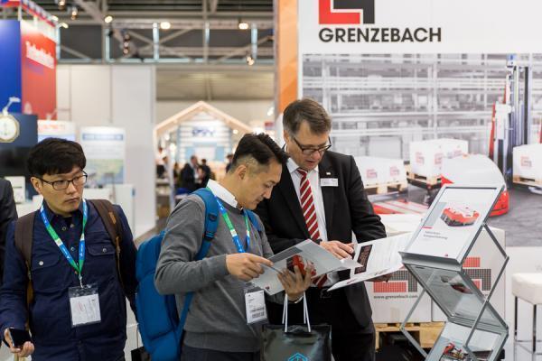 Fa. Grenzebach im Kundengespräch